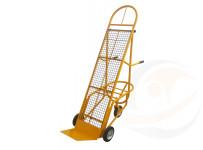 Carrello Portacasse con altezza regolabile con rete di appoggio - Mod. Bicicletta