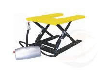 Piattaforma U extrabassa per sollevamento pallets