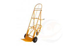 portacasse con altezza regolabile ruote antiforatura