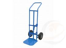 Portabombola ossigeno-terapia monoposto ruote antiforatura