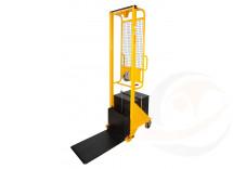 Sollevatore arganello contrappesato  frizione arresto automatico incorporata, portata Kg. 100
