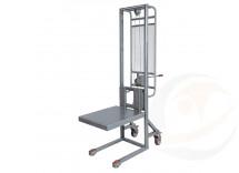 Sollevatore a pompa idraulica acciaio INOX AISI 304